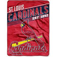 themed throw blanket 60x80 oversize mlb cardinals theme throw blanket blue baseball