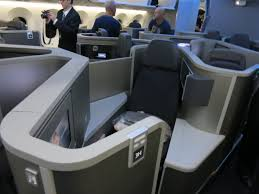 United Airlines American Airlines by Review American 787 Business Class
