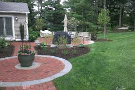 patio ideas for sloping gardens pictures landscaping collegeisnext