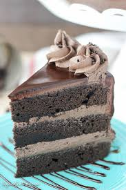 this chocolate mudslide cake is loaded with chocolate kahlua and