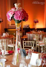 Wine Glass Flower Vase Tall Wedding Vase Centerpieces