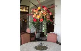 How To Arrange Flowers In A Tall Vase Tall Flower Arrangements Youtube