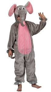 Elephant Halloween Costume Adults Turn Boy Nelly Elephant Elephant