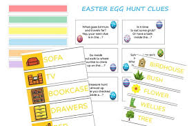 easter egg hunt ideas 25 easter egg hunt clues and activities madeformums