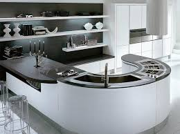 15 extremely sleek and contemporary curved kitchen island designs kitchen design ideas
