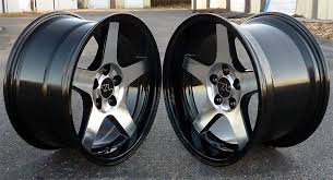 mustang replica wheels dish 2003 cobras on a fox ford mustang forums corral