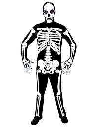 skeleton costume skeleton jumpsuit costume 996204 fancy dress