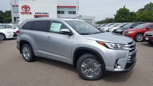 toyota new 2017 new 2017 toyota highlander limited platinum sport utility in boston