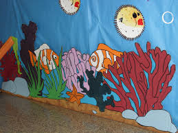 Vbs Decorations Mixingitup Vacation Bible Ideas For Underwater Theme