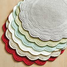 Placemats For Round Table Quilted Placemats For Round Tables Round Designs