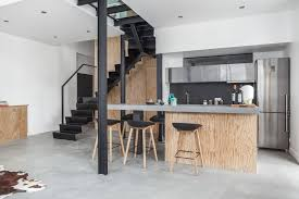cuisine bois beton cuisine bois beton myfrdesign co