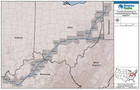 Pennsylvania Counties Map by New Pipeline From Pa Fracking Fields Stirs Controversy In The