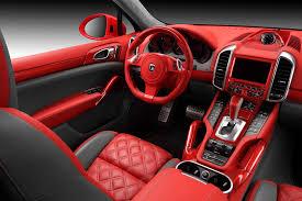 black porsche red interior interior porsche cayenne topcar gt 958 1 red topcar switzerland