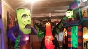 4 New 2017 Halloween Inflatables From At Home Youtube