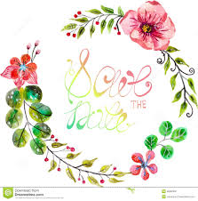 Wedding Invitation Design Wedding Invitation Floral Design Royalty Free Stock Photography
