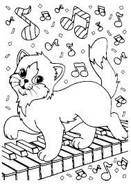 coloriage chat mignon facile dessin a imprimer dessincoloriage