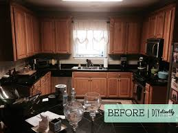 staining kitchen cabinets with gel stain painted kitchen cabinets diystinctly made