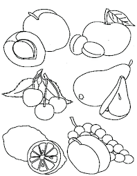 Coloring Pages Of Healthy Foods Printable Healthy Food Coloring Food Color Pages