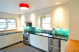 Kitchen Lighting Flush Mount by Chic Drum Pendant Lighting In Kitchen Traditional With Replacing A