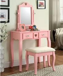 Pink Vanity Table Furniture Of America Francine Pink Vanity Set Cm Dk6430pk Savvy