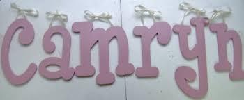 dusty rose pink wooden wall girls room letters nursery wall