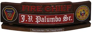 Personalized Desk Name Plates Police And Firefighter Desk Name Plates