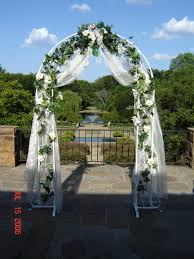 wedding arches using tulle wedding arch decorated with tulle awesome wedding arbors wedding