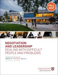 what are negotiations pon program on negotiation at harvard