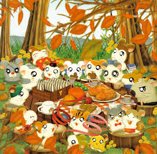 cartoon thanksgiving wallpaper thanksgiving zerochan anime image board