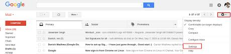 how to create signature template in gmail