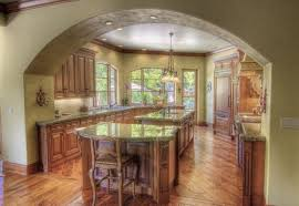 The BEST Kitchen Wall Color For Oak Cabinets  Kelly Bernier Designs - Pictures of kitchens with oak cabinets
