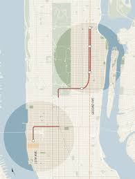 Second Ave Subway Map by Promise Of New Subways Has West Siders Excited And East Siders