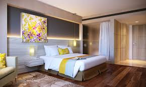 bedroom ideas magnificent flowers anf round gold mirror painting