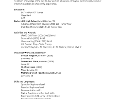 high school resume exle resume exle format for freshers exles with tem high