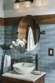 Bathroom Mirror Ideas Pinterest by Best 25 Vessel Sink Vanity Ideas On Pinterest Small Vessel