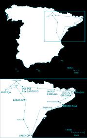 Pamplona Spain Map by Barcelona U0026 Around U2013 Spain Trails