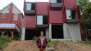 Hamilton is delivered its first shipping container home  CBC News