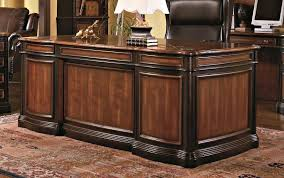 Big Office Desk Furniture Big Fascinating Oak Wood Home Office Desk Design For