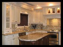 Granite Countertops And Tile Backsplash Ideas Eclectic by Ideas For Kitchen Backsplashes With Granite Countertops Decoration