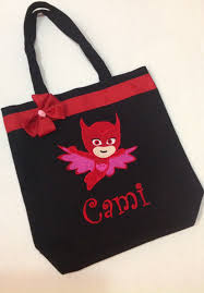 personalized tote bag personalized tote pj masks bag pj