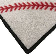 baseball no place like home welcome mat 2 u0027 x 3 u0027 floormatshop