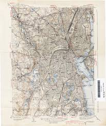 Rhode Island On Map Rhode Island Historical Topographic Maps Perry Castañeda Map