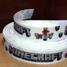 minecraft ribbon free minecraft ribbon 1 yard of 1 inch wide other