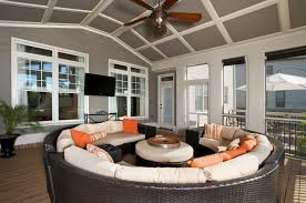 screened porch with upper deck totally dependable