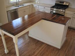 kitchen island with wood top countertops brun millworks