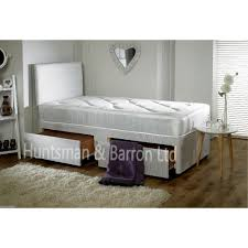 Single Divan Bed With Drawers And Mattress by Single Divan Bed With Mattress With Drawers Option Girls Pink