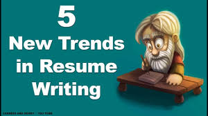 Jobs In Resume Writing by 5 New Trends In Resume Writing Youtube