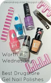alexandra quinlann worth it wednesday bonita gel on nail polish