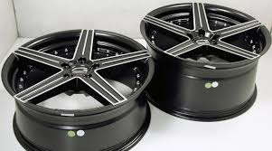 Mustang Gt Black Rims Giovanna Dublin 5 20 X 8 5 10 0 Black B2 Wheels Ford Mustang Gt