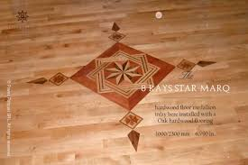 no 112 the 8 rays marq hardwood floor medallion pattern pavex